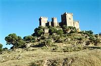 Castle. Almodóvar del Río. Córdoba province. Spain