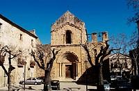 St. Mary´s church (12th century), Lladó. Alt Empordà, Girona province, Catalonia, Spain