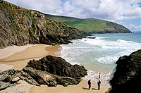Slea Head. Cumeenoole Strand. Ring of Kerry. Co. Kerry. Ireland.
