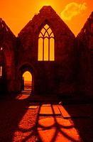Ross Abbey, Headford, County Galway, Ireland.