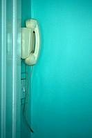 Telephone on Wall