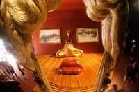 ´Mae West´ in Dali Museum, Figueres. Girona province, Catalonia, Spain