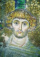 Saint, Byzantine mosaics, Rotond, Thessaloniki, Sreece