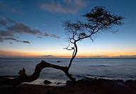 A sunset on the Big Island of Hawaii