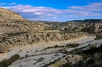 Mula river, Baños de Mula. Murcia, Spain