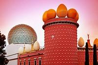 Dalí´s Theatre Museum. Figueres. Catalonia. Spain.