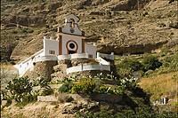 La Ermita de Nuestra Señora Villaverde, near El Chorro, Málaga province, Andalucia, Spain