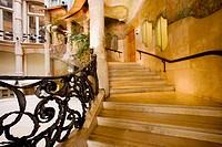Milà House (1906-1912) by Gaudí. Barcelona. Spain