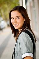 Student. teenage school girl