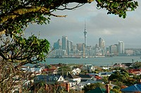 Auckland from Devonport, North Island ,New Zealand