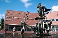 Museum of Modern Art in Amstelveen near Amsterdam. Netherlands.
