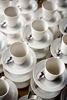 white mugs.