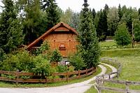 house in wood,Soprabolzano, Bolzano. Trentino Alto Adige, Italy
