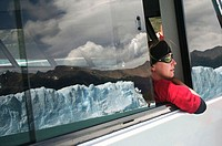 Boat ride at Moreno Glacier, Argentina