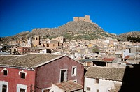 Mula. Vélez castle. XVIth century. Murcia province. Spain.