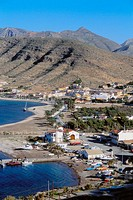 La Azohia. Beach. Murcia province. Spain.