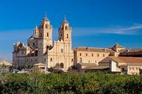 Guadalupe. Jerónimos monastery. XVIIth century. Murcia province. Spain.