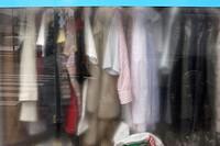 Clothes in a laundry. Salzburg. Austria