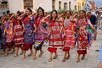 Guelaguetza festival, Oaxaca, Mexico