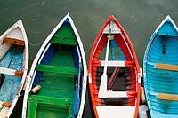Boats at port, Getxo. Biscay, Euskadi, Spain