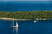 Dalamatian coast Croatia Balkans Europe