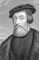 Hernan Cortes, Fernando Cortes Monroy Pizarro Altamirano,  Marqués del Valle de Oaxaca, 1485-1547. Spanish conquistador.