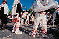 Corpus procession. Camuñas. Toledo province. Spain.