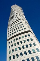 Turning Torso building is part of a huge project to revitalize the city´s port and waterfront. Malmö, Skåne. Sweden