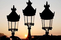 Lampposts, Paris, France