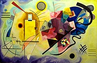 Yellow, red and blue, 1925 , Vasily Kandinsky, Centre Georges Pompidou, Paris
