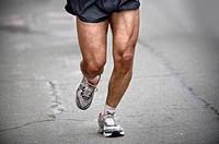Runner during marathon race