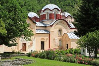 Holy Apostles church (1230-1330´s) of the Patriarchate of Pec, Kosovo, Serbia