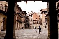 Albarracin. Teruel. Spain.
