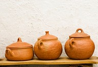 Pottery. Local handicraft from Vejer de la Frontera. Andalucia. Spain.