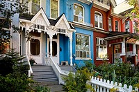 Houses, Kensington District, Toronto