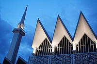 National Mosque (Masjid Negara), Pasar Seni, Bangsar, Kuala Lumpur, Selangor, Malaysia, Asia