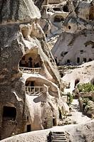 Troglodyte housing. Cappadocia, Turkey