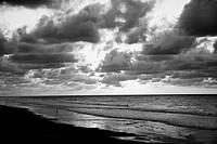 Folly Beach in Charleston, South Carolina. USA