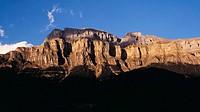 Mondarruego cliffs, Ordesa valley. Monte Perdido and Ordesa National Park, Huesca province, Aragon, Spain