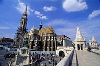 Matthias Church, Fishermen´s Bastion, Budapest. Hungary