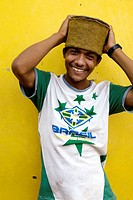Wendell Silva, works as a docker in Manaus port. Amazonas. Brazil