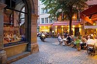 Vieux Lyon: view of Place (square) du Government, Lyon. Rhône-Alpes, France