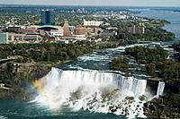 View on Niagara falls. American Falls. State New York. USA