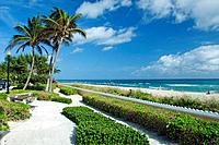 A West Palm Beach oceanside park along South Ocean Blvd., Florida, USA, 2008