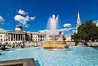 Europe, UK, england, London 2007 Trafalgar Square