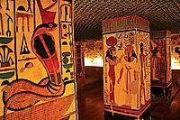 Queens Valley: Nefertari tomb, Luxor west bank. Egypt.