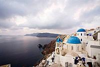 Oia, Santorini island  Cyclades, Greece