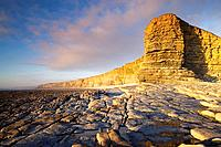 Nash Point nr St Donats Glamorgan Wales Heritage coast