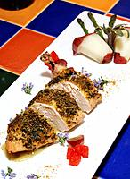 chicken ´rubbed´ with spices