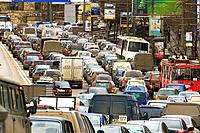 Traffic, Arbatskaya, Moscow, Russian Federation